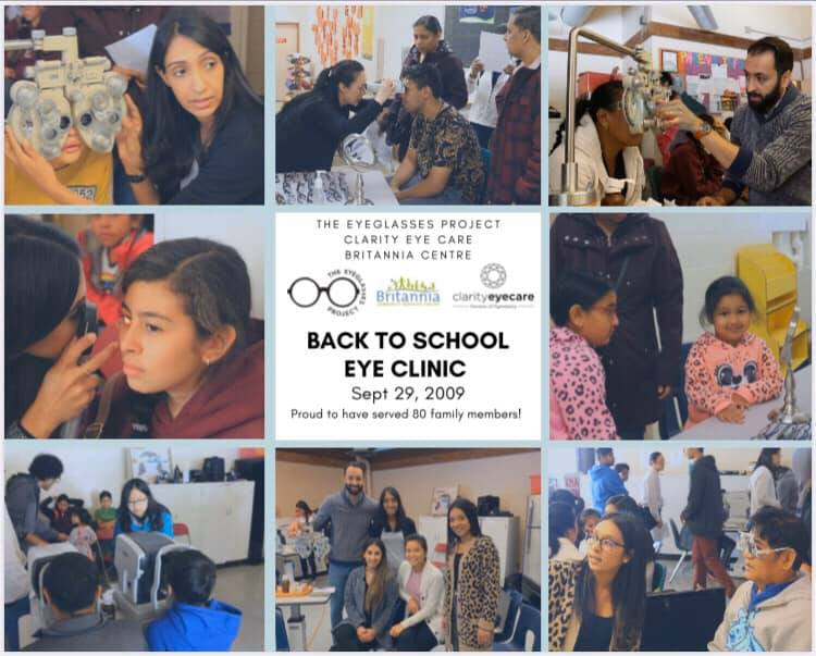 Britannia Community Service Centre | For Children's Vision #BackToSchool